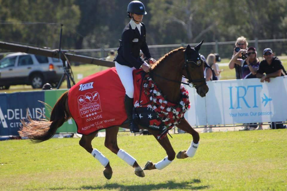 Hazel and Clifford win Adelaide 4**** 3DE 3-6th Nov 2016!!!
